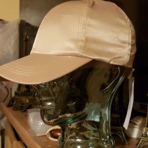 Bebe satin baseball hat